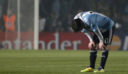 La frustración en el fútbol